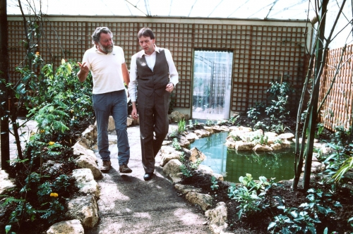 Co-founder Gareth Ireland with David Bellamy
