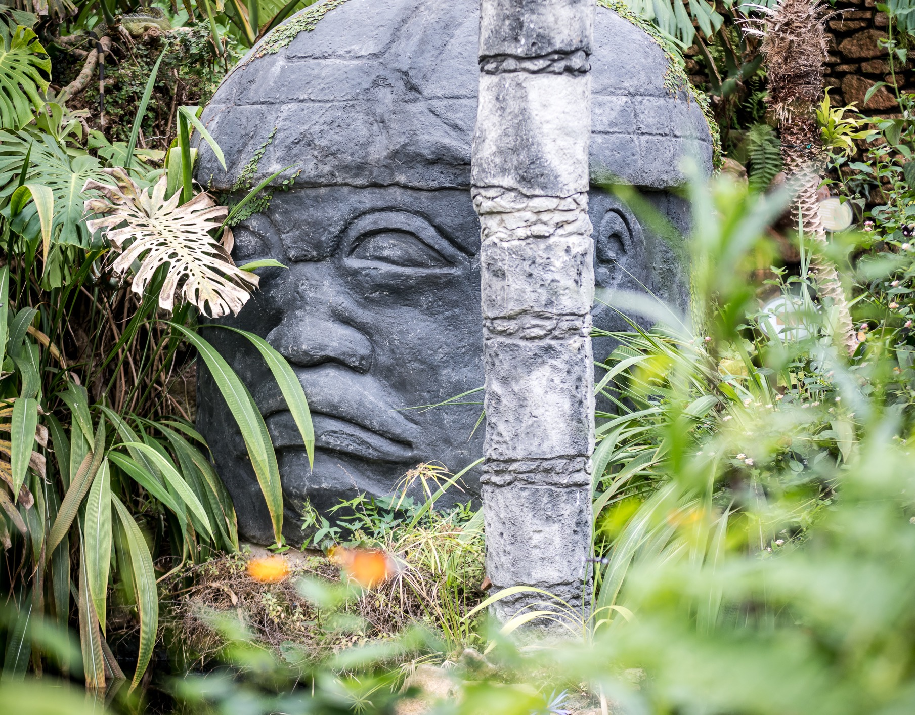 Olmec Head © Shortwork